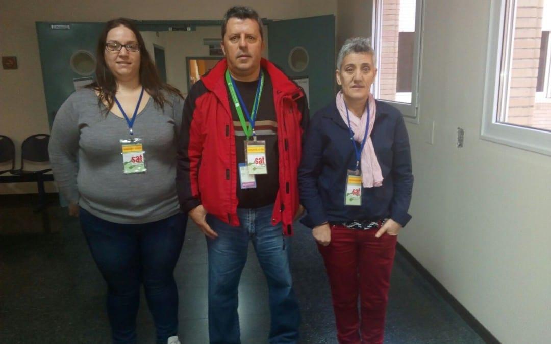 SAT obtiene representación en las elecciones sindicales celebradas en Clece-Hospital de Poniente