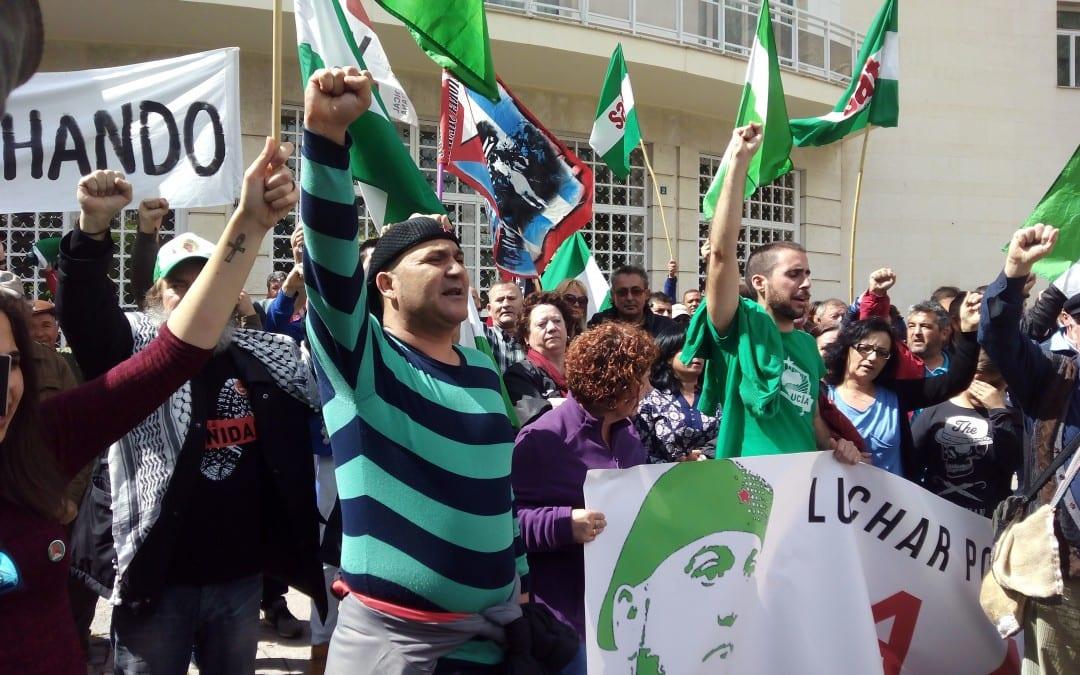 El SAT volverá a movilizarse en apoyo a Andrés Bódalo